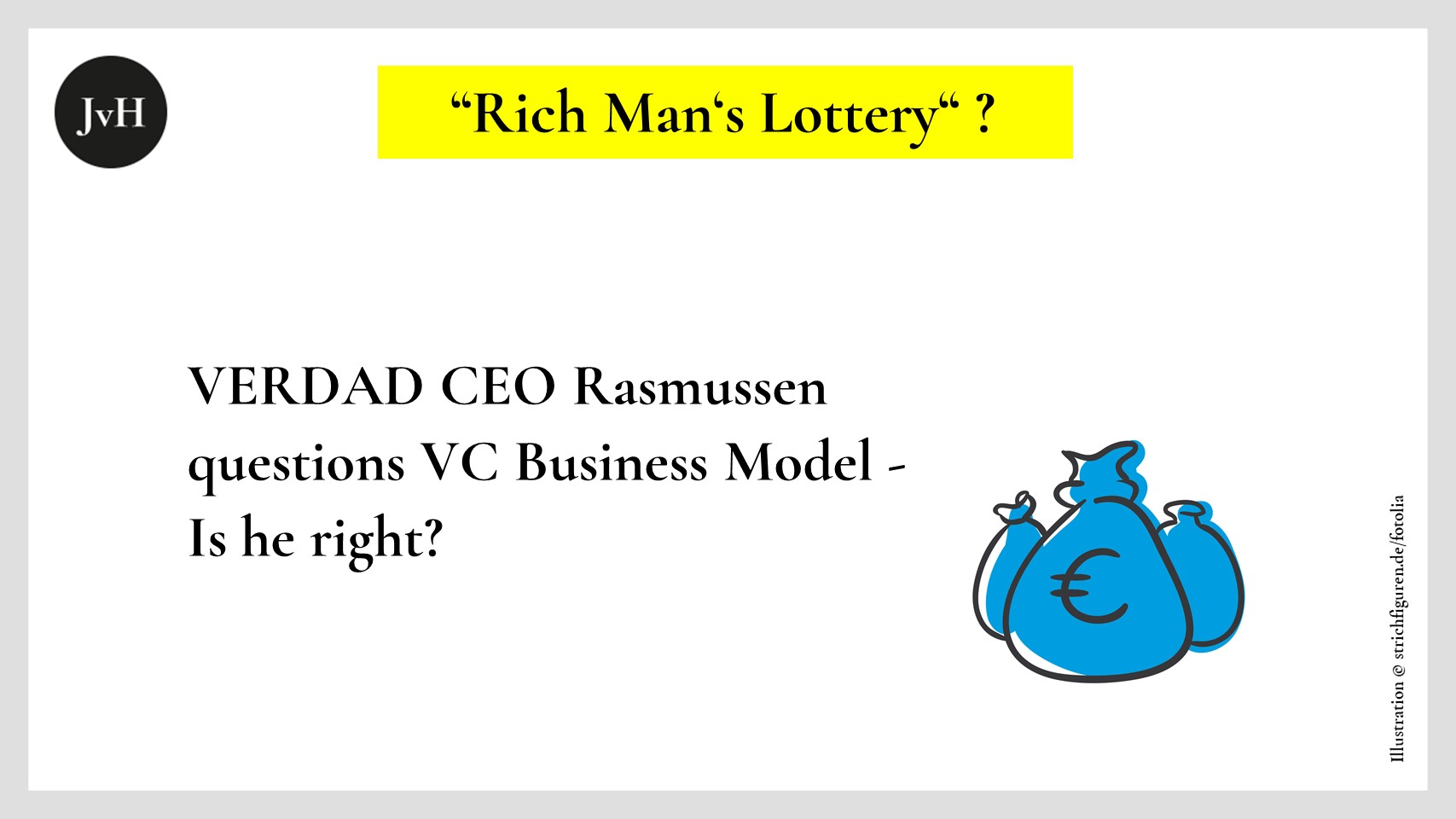 Rich Man's Lottery, is Rasmussen right?