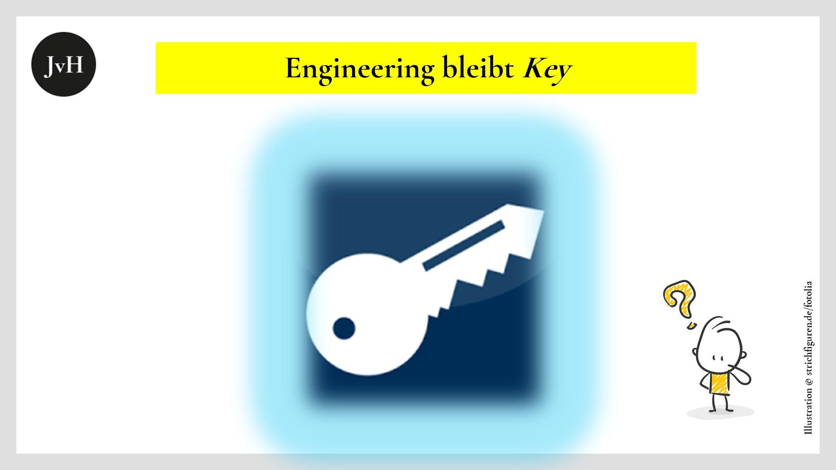 Schlüssel als ein Symbol