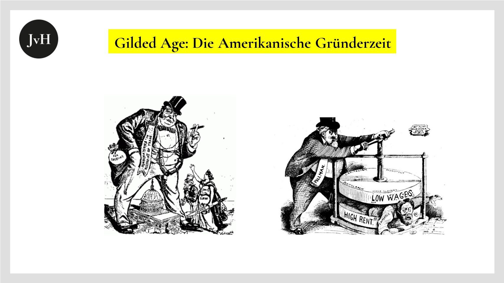 Soziale Herausforderungen der Gilded Age