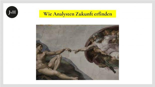 Michelangelos-Interpretation-der-Erschaffung-Adams, Fresko-aus-der- Sixitinischen-Kapelle