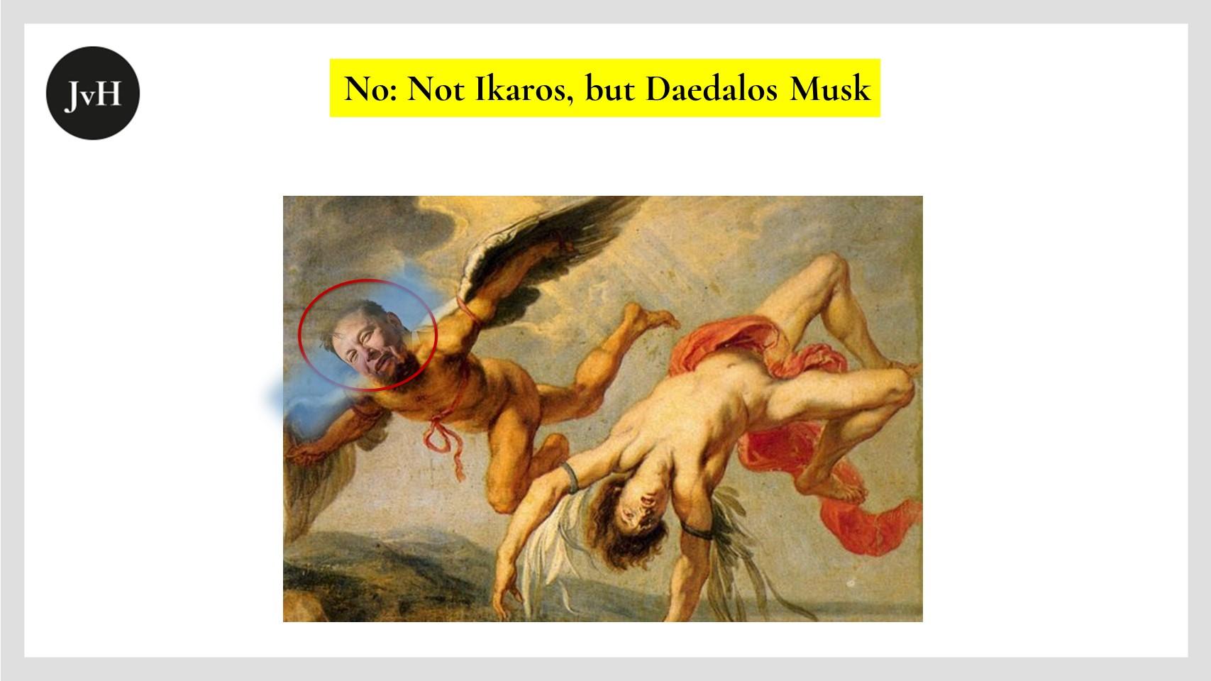 Daedalos und Ikaros